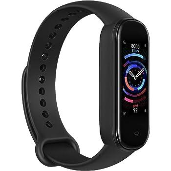Amazfi Band 5 Smartwatch Tracker Fitness Orologio per Sport Uomo Donna con Alexa Integrato Impermeabile ATM5 di 15 Giorni Smartband Contapassi, Monitoraggio Frequenza Cardiaca del Sonno e della Salute