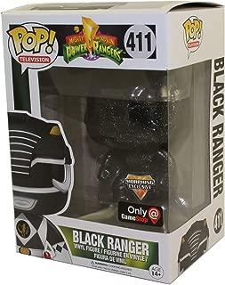 Funko POP Power Rangers Black Ranger Figurine, Exclusive Morphing