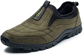 Men's Athletic Shoes Categorical Heel Slip On Casual Outside Fashion Sneaker casual shoes (Color : Green, Size : 40 EU)