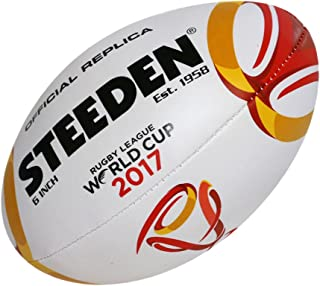 Steeden Official Rugby League World Cup RLWC 2017 Replica Size 5 Ball