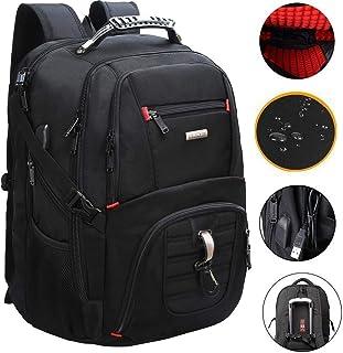 a6bb11c57b FreeBiz Sac à Dos pour Ordinateur Portable 18 Pouces Imperméable Anti-Choc  Laptop Rucksack Multifonction