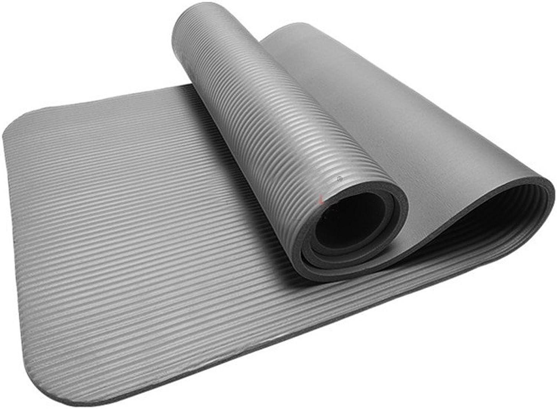 YOOMAT 10 MM Dicke Durable Yoga Matte Rutschfeste übung Fitness Pad Matte Gewicht verlieren Wasserdichte staubdichte zugfestigkeit Weiche A70