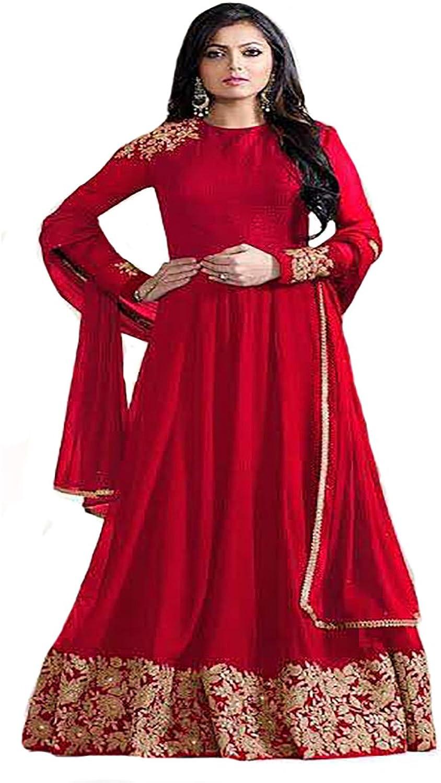 Bollywood Collection Anarkali Salwar Kameez suit Ceremony Muslim Women Wedding 8768