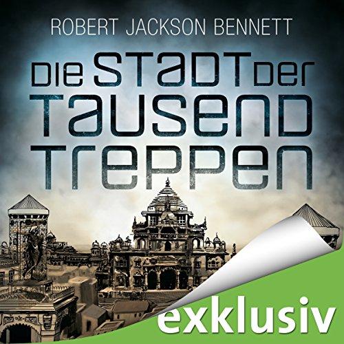 Die Stadt der tausend Treppen (Die göttlichen Städte 1) audiobook cover art