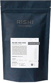 Rishi Tea Ancient Pu'er Tuo Cha Loose Leaf Herbal Tea | Immune, Heart & Digestion Support, USDA Certified Organic, Fair Tr...