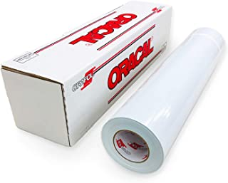 ORACAL Matte White Vinyl 651 - Adhesive Craft Vinyl Roll for Cricut, Silhouette, Cameo, Craft Cutters, Printers, and Decals - Outdoor & Permanent | 24