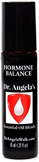 Dr. Angela Walk Hormone Balance Essential Oil Blend | Therapeutic Grade | Hot Flashes, Night Sweats, Menopause Relief Roll...