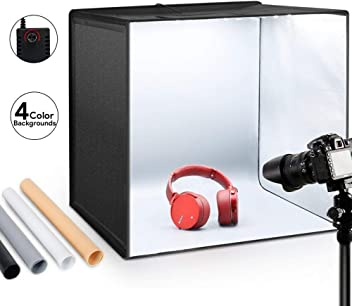 Vine grabaci/ón de v/ídeo Smartphone Youtube autorretrato 3200 K-5600 K Kit de Luces LED de 18 Pulgadas Bicolor con Soporte Ligero y Hot Shoe para c/ámara de Fotos ESDDI