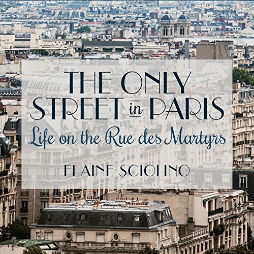 The Only Street in Paris audiobook cover art