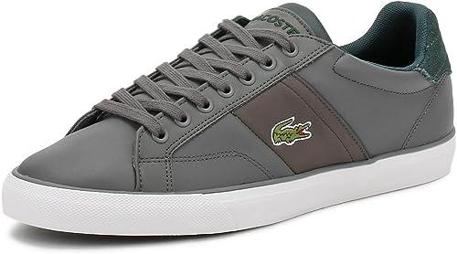 Lacoste Hommes Dark Dark Dark gris Fairlead 317 2 Basket d46