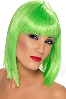 Smiffy's Women's Glam Wig Short Blunt with Fringe