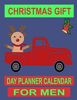 CHRISTMAS GIFT: DAY PLANNER CALENDAR FOR MEN