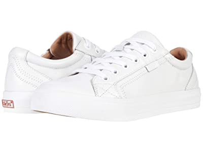 Taos Footwear Plim Soul Lux (White Leather) Women
