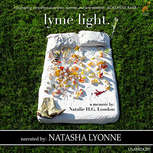 Lyme Light audiobook cover art