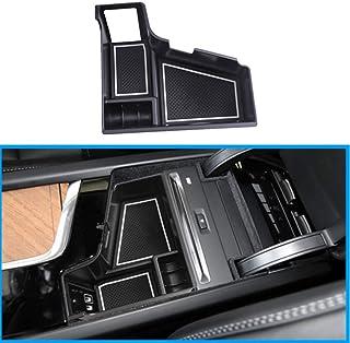 Auto Central Console Aufbewahrungsbox Kompatibel mit XC60 2018 / XC90 2016 2017 Mit CD Spieler Autozubehör Innenfront Handschuhfach Mittelkonsole Armlehne Organizer Tray Halter Automatik