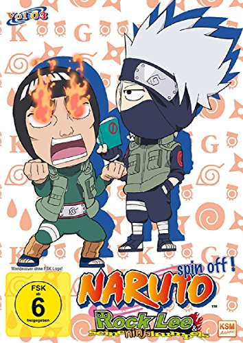 Rock Lee & seine Ninja Kumpels - Vol.3 (Episoden 27-39) (3 DVDs)