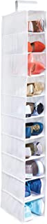 InterDesign Fabric Hanging Closet Storage Organizer, Shelves for Shoes, Children's Clothing, Blankets, Toys, Accessories 6