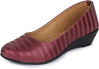 TRASE Roma Wedges Bellies for Women - 1.5 Inch Heel