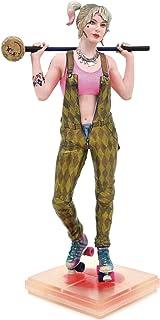 DC Gallery: Birds of Prey Harley Quinn PVC Figure, Multicolor, 9 inches