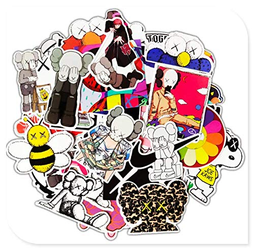 Sesame Street Suitcase Stickers Skateboard Travel Suitcase Mobile Phone Guitar Waterproof Stickers 64 Sheets