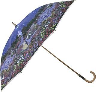 小川(Ogawa) ショートスライド晴雨兼用長傘 手開き 50cm ディズニー 美女と野獣 ローズガーデン 晴雨兼用 UV加工 遮熱遮光加工 はっ水 57123...