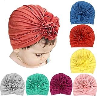 Simoda 7/8 piezas bebé bohemio turbante diadema super suave