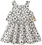 Juicy Couture Baby Girls Casual Dress, Vanilla/Black, 18M