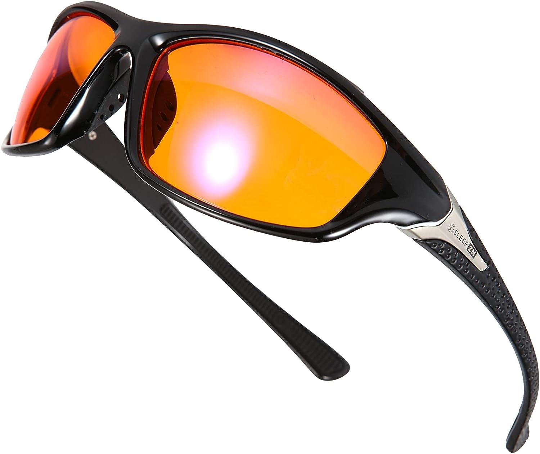 99% Orange Amber Sports Blue Light Blocking Glasses