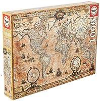 1000ピース ジグソーパズル Educa 古代の世界地図 Antique World Map 48×68cm 15159