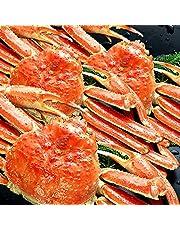 食の達人森源商店 特大高級カナダ産 ボイル済み 姿ずわい蟹 3尾セット約2kg ( かに カニ 蟹 ズワイ ) 冷凍便