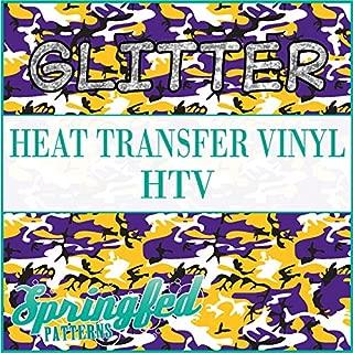 GLITTER CLASSIC CAMO PATTERN HTV 12