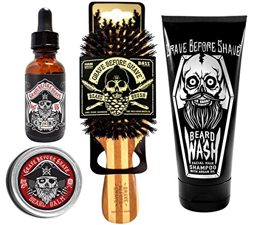 Grave Before Shave Beard Care Pack (Bay Rum Blend)