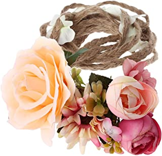 Women Girl Boho Flower Floral Hairband Headband Wreath Party Bride Wedding Beach