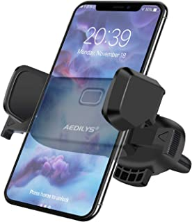 Cell Phone Holder for Car, 360 Rotation Universal Air Vent Car Phone Mount for iPhone 11/iphone11pro max/X/8 Plus/SE, Samsung Galaxy S7/S8 edge/S9/S10 and Universal Smartphones GPS and More