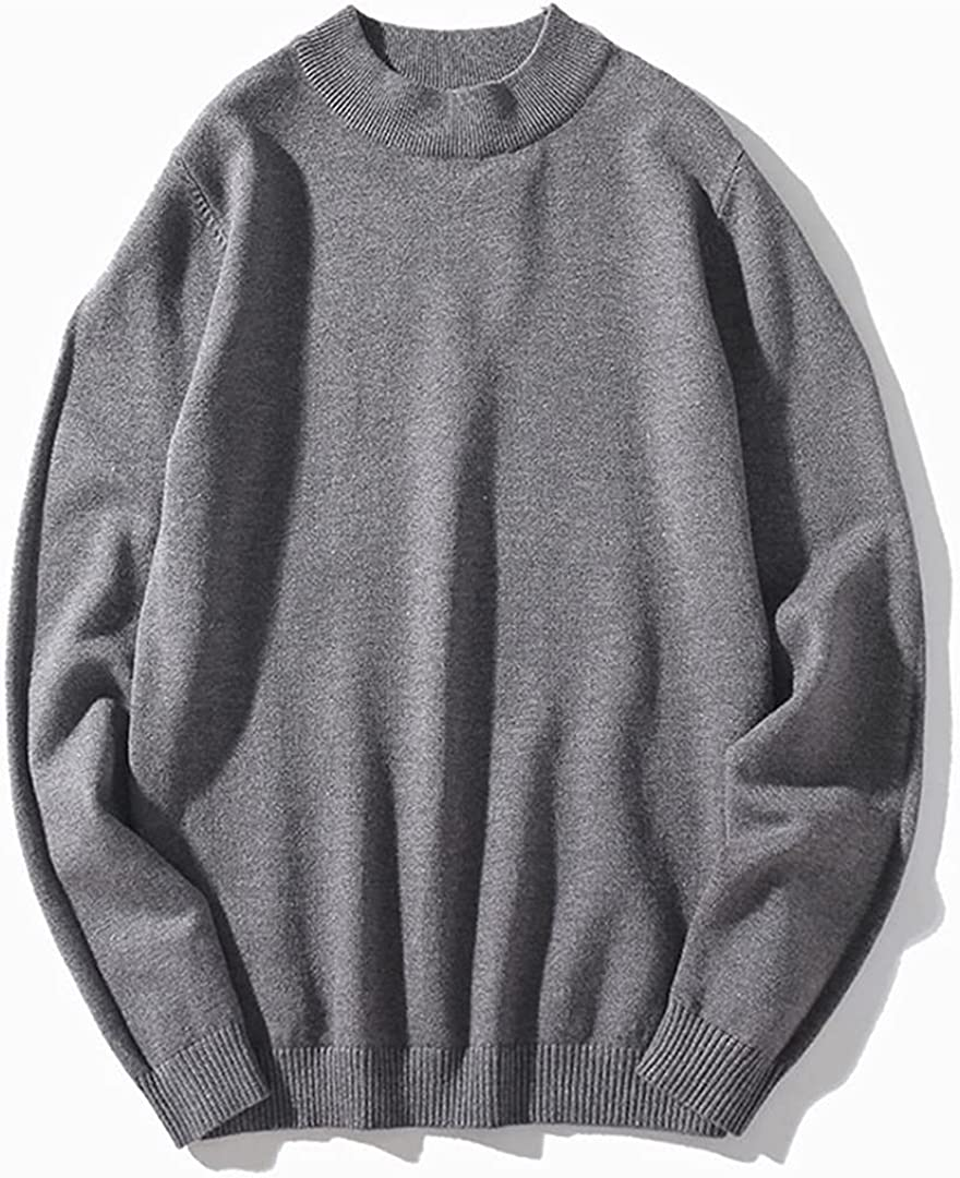 Mens O Neck Sweaters Spring Autumn Winter Jumpers Knitwear 7 Color