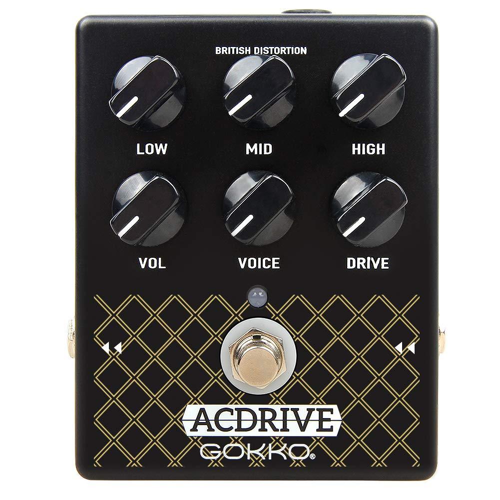 GOKKO Pedal de Guitarra Amp Simulador para Guitarra Eléctrica ...