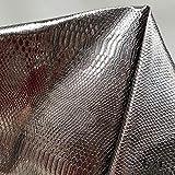 Meterware als Dekostoff- Silver Dragon Scale Metallic