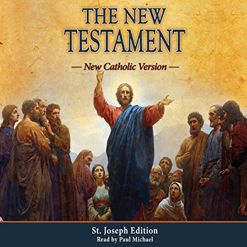 The New Testament: New Catholic Version audiobook cover art