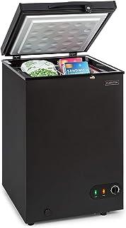 comprar comparacion Klarstein Iceblokk - Congelador, Temperatura entre -26° y -15° C, Cesta extraíble para alimentos pequeños, Válvula de purg...