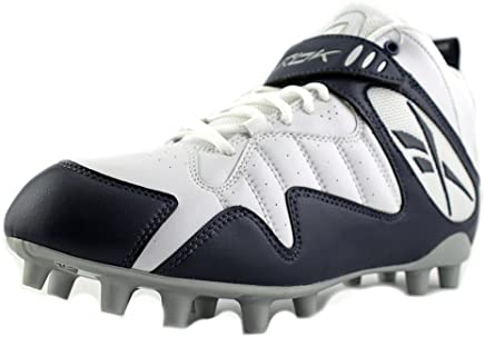 dbbd179e4 Reebok PRO All Out ONE MID MP Mens Football Shoes White Navy 16 M
