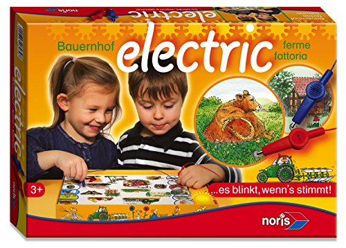 Noris 606018039 606018039-Bauernhof Electric, Kinderspiel