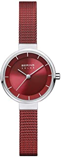 BERING Womens Analogue Solar Powered Watch with Stainless Steel Strap 14627-303