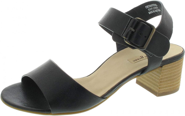 Paul Grün Damen Sandaletten schwarz 7402-044 schwarz 631424  | Hat einen langen Ruf