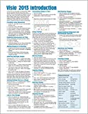 Microsoft Visio 2013 Introduction Quick Reference Guide (Cheat Sheet of Instructions, Tips & Shortcuts - Laminated Card)