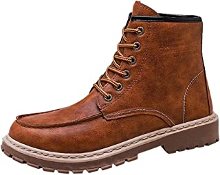Men's Boots Shoes Fashion Waterproof Snow Boots Hiking Boot Casual Athletic Shoes