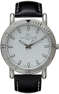 Renato Landini Casual Watch For Unisex Analog Genuine Leather - RM8604