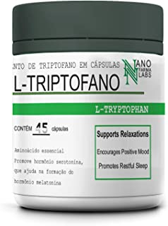 L Triptofano Melatonine- 45 caps - Nano Farma
