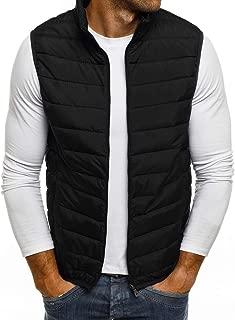Kekebest Men's 2019 Zipper Pure Color Waistcoat Vest Coat Fashion Newest Winter Autumn Thick Warm Down Cotton