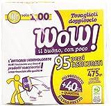 Wow! - Tovaglioli 2 Veli 40X40, 95 Pezzi