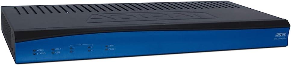Adtran Total Access 908e Gen 3 - Router - Desktop, Rack-mountable, Wall-mountable - Black/Blue (4243908F1)